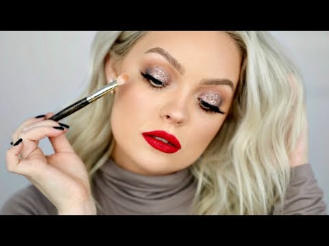 HOW TO COOL TONED HOLIDAY GLAM MAKEUP TUTORIAL thumbnail