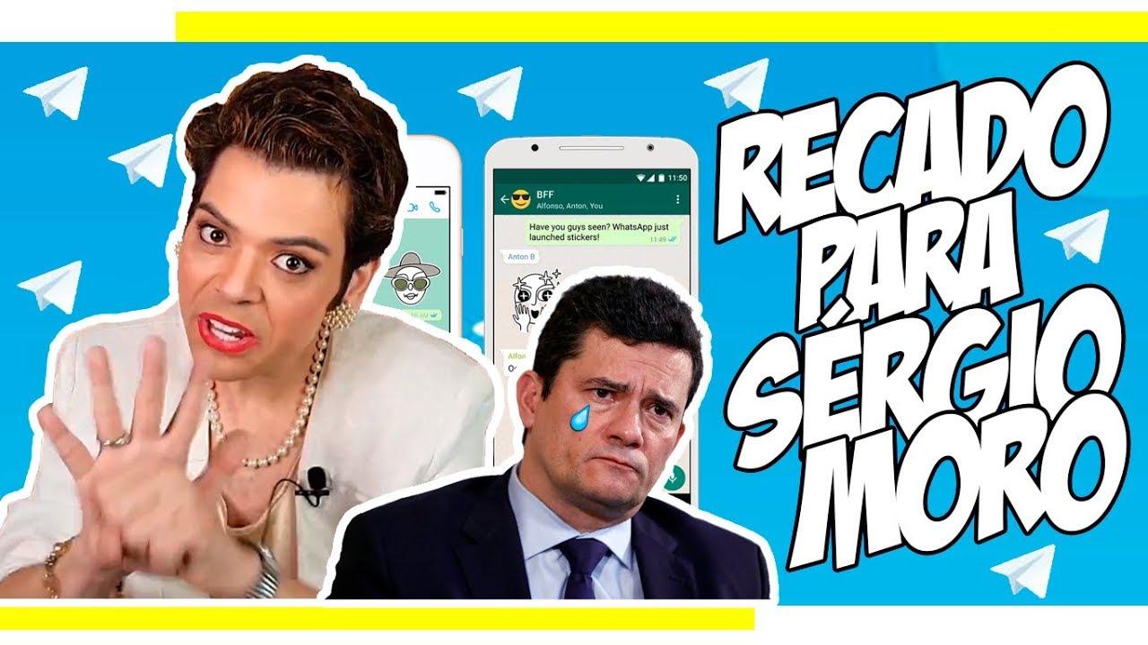 DILMA MANDA RECADO PARA SÉRGIO MORO