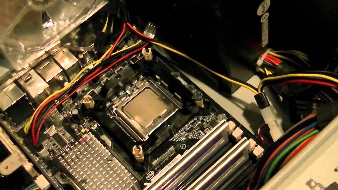 Artic 7 CPU Cooler Socket LGA 775 Installation