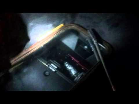 Niva Chevrolet Нива Шевролет замена шланга печки  метод стоматолога