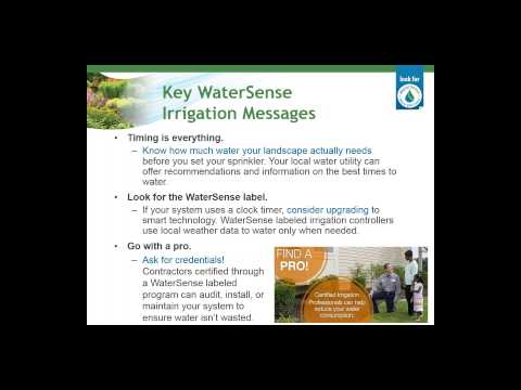 How WaterSense Is Enhancing Efficient Irrigation Technologies and Services