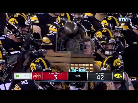 Iowa State Cyclones vs Iowa Hawkeyes 09-10-2016