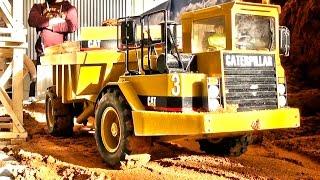 RC Dump-Truck Action! CAT! Liebherr! Volvo! MAN! Construction-World! ScaleART!