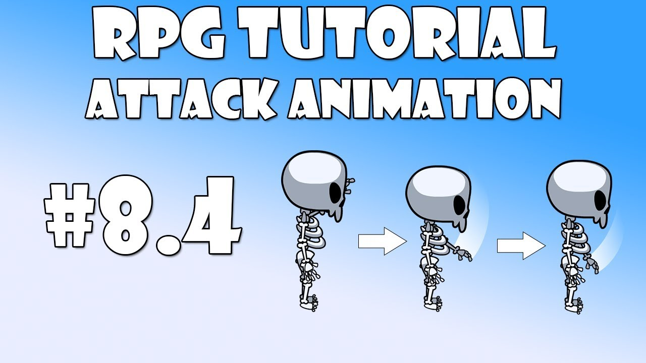 #8 4 Unity RPG Tutorial - Attack animations