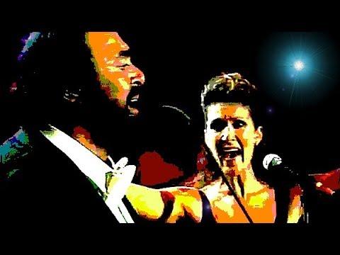 Pavarotti, Celine Dion- I Hate You, I Love You (Live)- Modena 1998