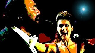Pavarotti, Celine Dion- I Hate You, I Love You (Live)- Modena 1998