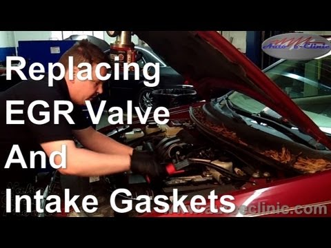 How to Replace an EGR Valve and Intake Gaskets on A Ford Freestyle 30L V6  YouTube