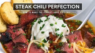 Sous Vide STEAK CHILI Perfection!