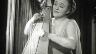Mildred Dilling performs in 1940
