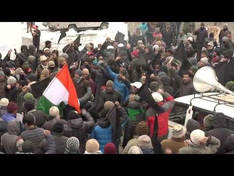 Kargil Protests enters 4th day against Divisional HQ at Leh. Mp3