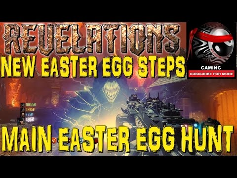 "BO3 Zombies ""REVELATIONS"" ALL EASTER EGG STEPS BY ROUND 2 