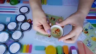 Развивающая игра на память. Из баночек от детского питания.