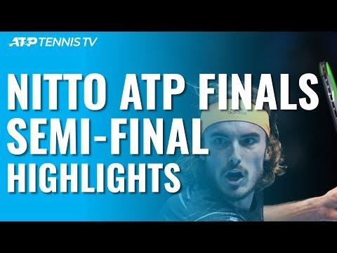 Tsitsipas, Thiem Beat Federer & Zverev To Reach Final! | Nitto ATP Finals 2019 Semi-Final Highlights