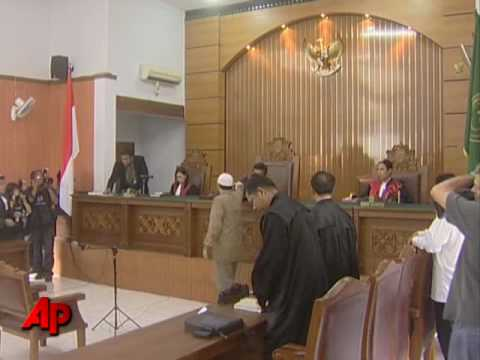 Raw Video: Militant Sentenced for Hotel Attacks