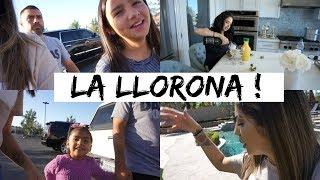 LA LLORONA + EN EL NUEVO SET - Vlogs diarios