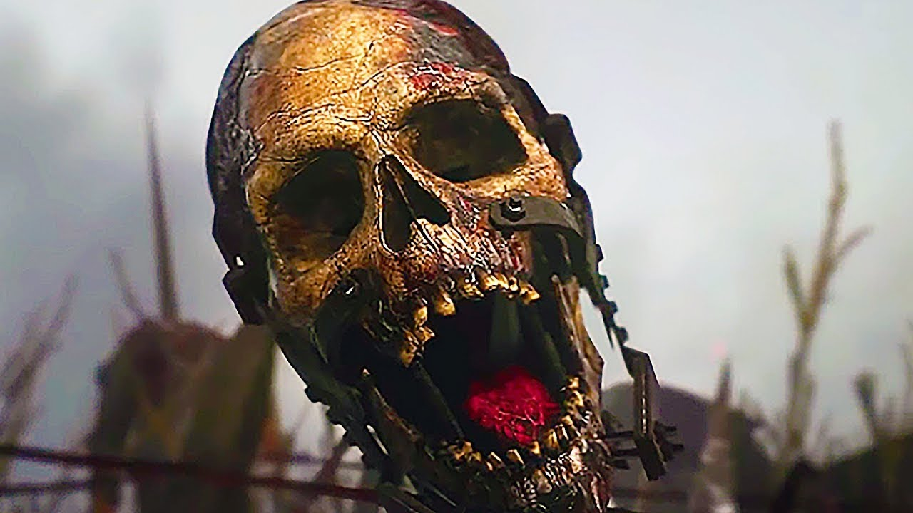 Call Of Duty Black Ops 4 All Zombies Cinematic Cutscenes Trailers (2018)