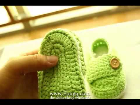 """From China Cheap Wholesale """"Cute Handmade Crocheted Shoes"""" for Toddler baby soft 6-9 Mts"""