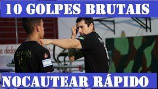 10 golpes para NOCAUTEAR FÁCIL - Defesa Pessoal Krav Maga thumbnail