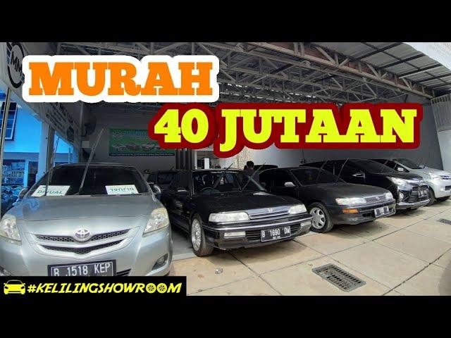 Harga Mobil Bekas 40 Jutaan Murah Mandiri Motor Jakarta Semua Masih Bisa Di Nego Tinggal Pilih Loh Youtube