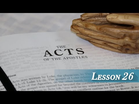 Acts lesson 26 - Chapter 11
