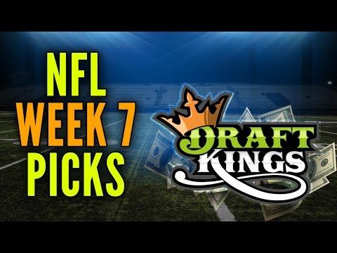 DraftKings NFL Week 7 Picks
