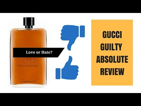 7511aa46d5 Gucci Guilty Absolute   Love or Hate? - YouTube