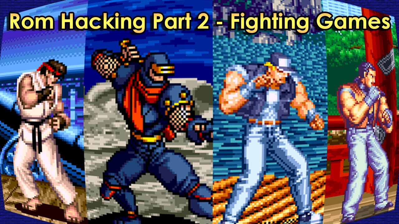 Pyron S Lair Rom Hacking 2015 Part 2 Fighting Games Youtube