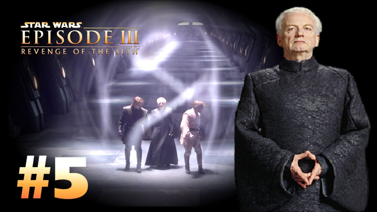 Star Wars Episode 3 Revenge Of The Sith Ps2 Walkthrough Part 5 It S Not Over Yet Youtube