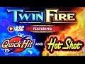 *FIRST-SPIN QUICK HIT WIN!* TWIN FIRE (SG) | MAX BET! LIVE PLAY & BONUS! Slot Machine Bonus