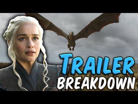 Game of Thrones Season 7 Official Trailer Breakdown!