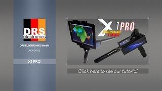 DRS X1 PRO: 3d underground scanner and long range locator