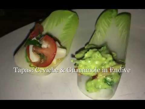 Tapas Ceviche & Guacamole