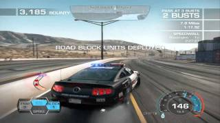 Need for Speed - Hot Pursuit ~ Cop Gameplay ~ Point of Impact