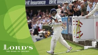Sachin Tendulkar describes the walk to the middle at Lord