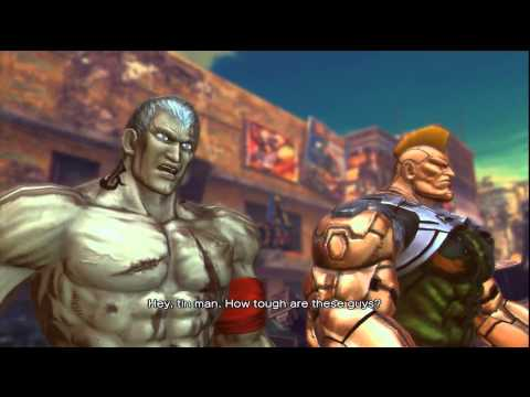 Street Fighter X Tekken Arcade Mode - Bryan & Jack-X