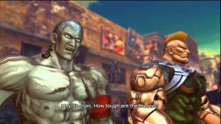 Street Fighter X Tekken Arcade Mode - Bryan & Jack-X