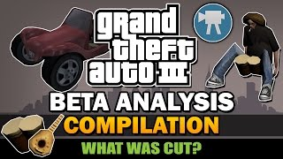 GTA 3 - Beta Analysis [Compilation]