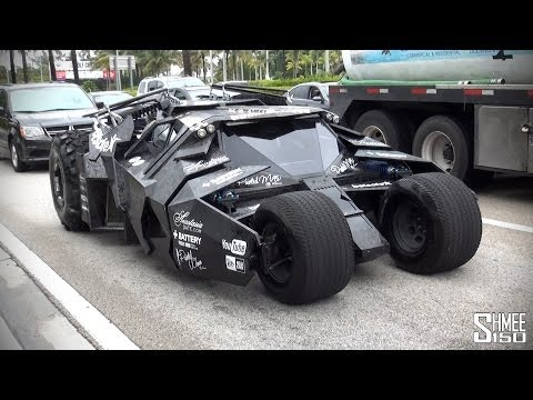 Batmobile Tumbler from Team Galag at Gumball 3000 2014