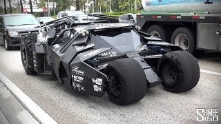 Batmobile Tumbler from Team Galag at Gumball 3000 2014