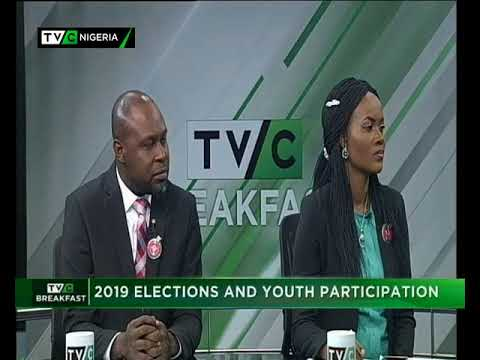 TVC Breakfast 12/ 01|/2018|  Elections and youth participaion 2019| Ahmed Buhari