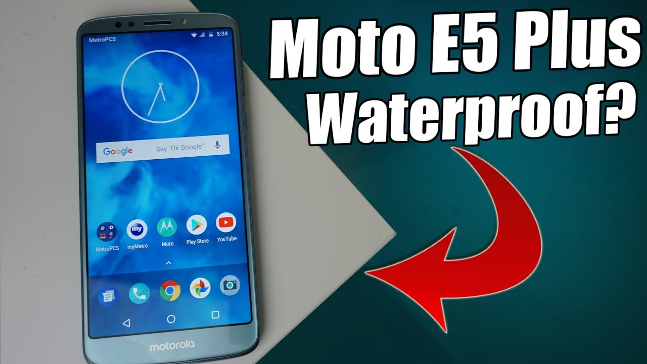 the best attitude d565e c4c26 Moto E5 Plus | Is It Water-resistant?
