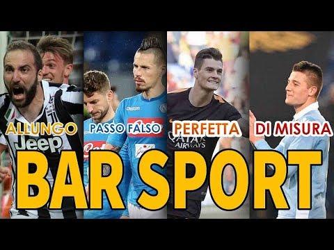 SPECIALE BAR SPORT: INTER-JUVE 2-3 FIORENTINA: 3-0 AL NAPOLI!!!