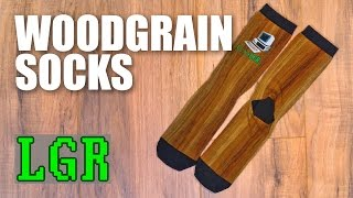 Introducing: LGR Woodgrain Socks! (Limited Time Only)