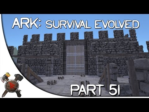 "Ark: Survival Evolved Gameplay - Part 51: ""Island Castle!"" (Season 2 w/ Facecam)"
