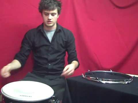 how to change a snare drum skin youtube. Black Bedroom Furniture Sets. Home Design Ideas