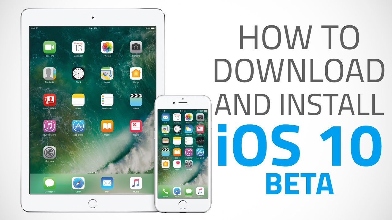 Ios 10 To How To Download And Install Ios 10 Beta On Iphone Ipad Or Ipod Touch
