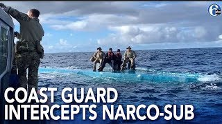 US Coast Guard intercepts narco-submarine smuggling $69M worth of cocaine