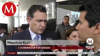 Senadores opinan sobre detención de Genaro García Luna