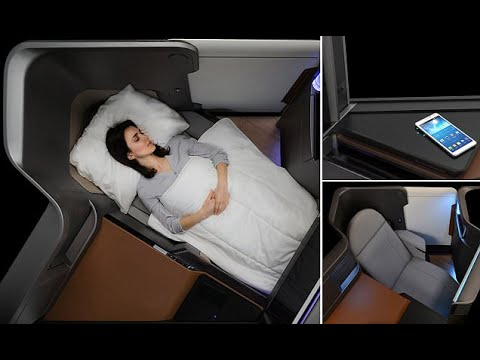 Business Class Seat: Waterfront Seat Allows Passengers Contr