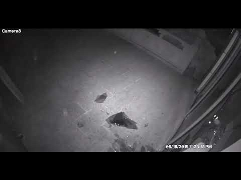 Video: Man Uses Rock To Break Into Long Island Restaurant